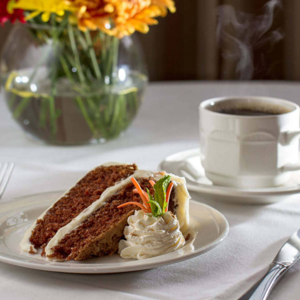 Carrot Cake and Coffee